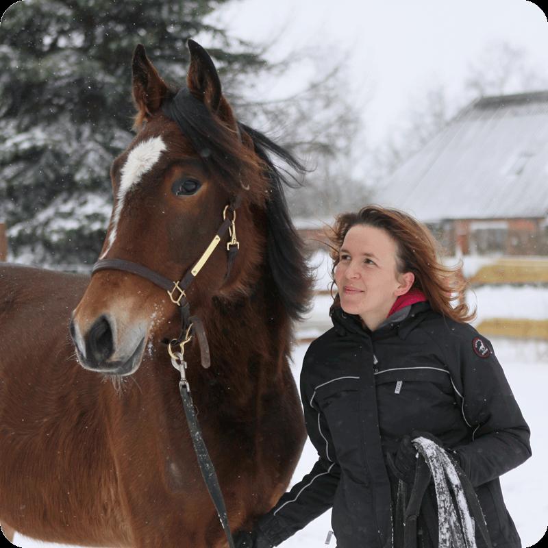 Melanie Härtel mit Turo vom Hof PonyGlück